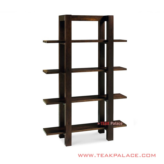 Shelf Decor Teak Wood Series Surabaya