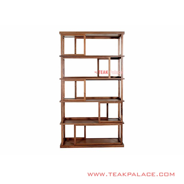 Shelves Display Teak wood Minimalist Bandung Series