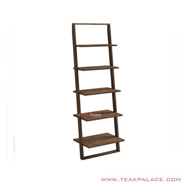 Ornamental Shelves Salak Brown Minimalist Syena