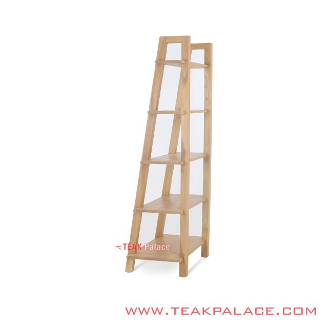 Minimalist Teak Ornamental Shelves Alpha