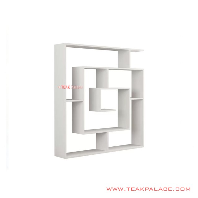 Display Rack Minimalist White Duco Spiral Series