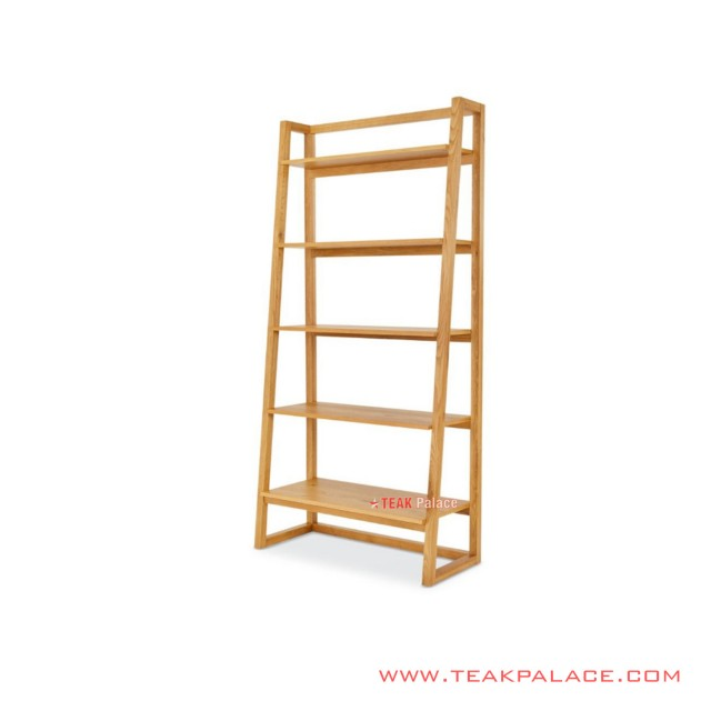 Holma Teak Solid Display Shelves Minimalist