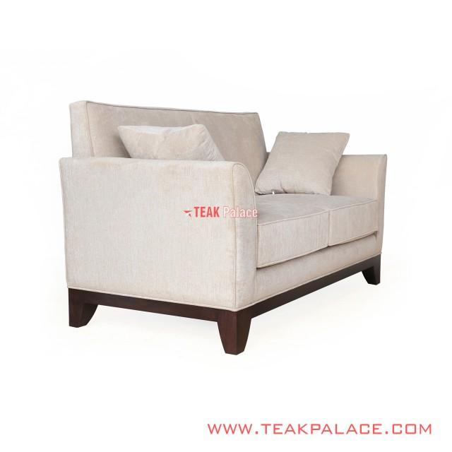 Gisela 2 Seater Minimalist Sofa Tatami Fabric Color