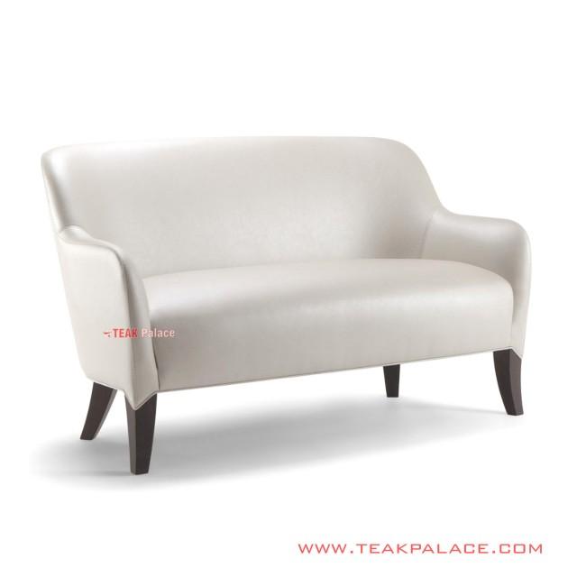 Sofa Minimalis Alisia Jati 2 Seater