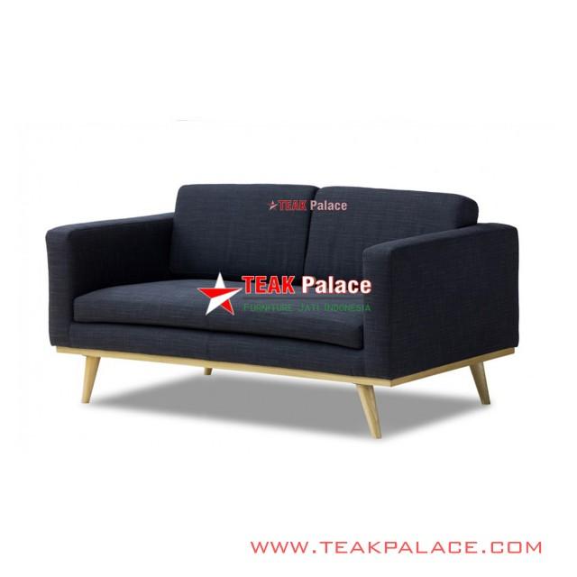 Kursi Sofa Santai Minimalis 2 Seater Seri Bella