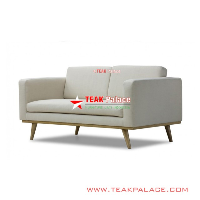 Bella Sofa Santai Minimalis 2 Seater