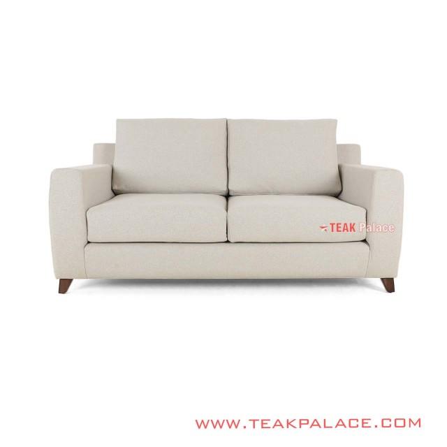 Sofa Minimalis Modern 2 Seater Linen Seri Surabaya