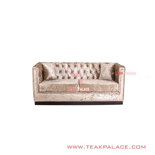 Sofa Santai Mewah Minimalis 2 Seater Seri Diamond