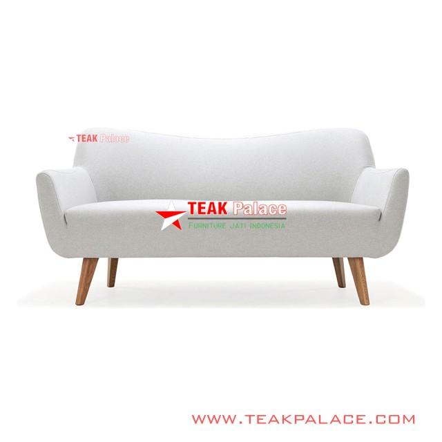 Sofa Minimalis Modern 2 Seater Normandi