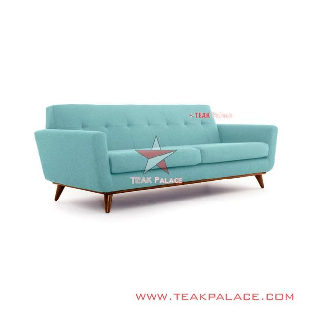 Sofa Panjang 3 Dudukan Vintage Minimalis Jati Jepara Hugo