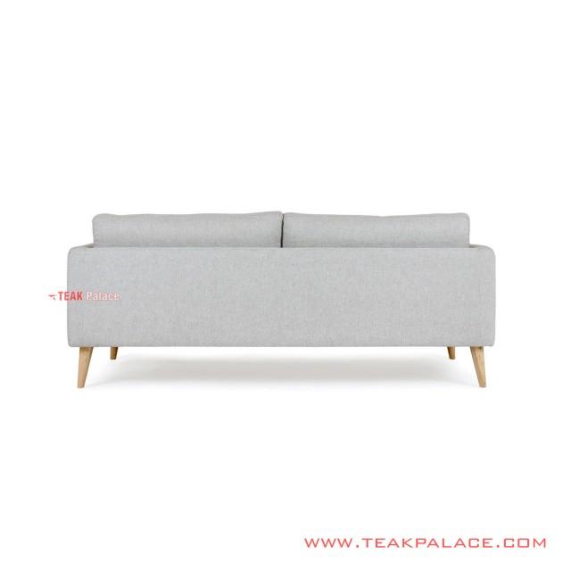 Sofa Daiki 3 Seater Kayu Jati Natural Nimbus
