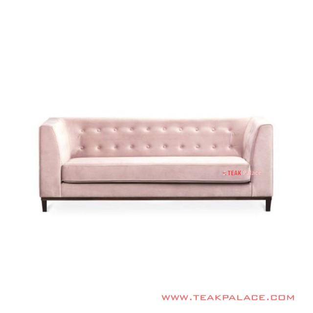 Sofa 3 Seater Modern Mewah Fury Jati Minimalis