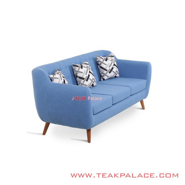 Sofa Dina Biru 3 Seater