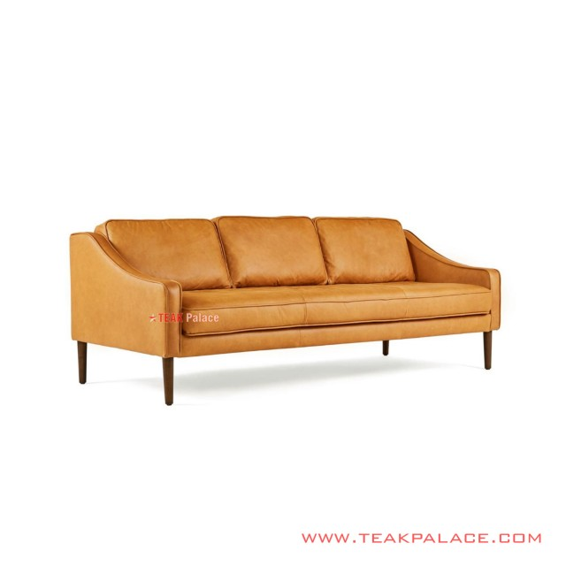 Sofa Modern Minimalis Orange Seri Cortes