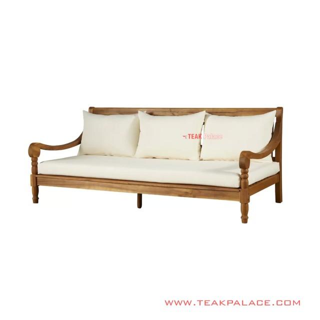 Alba Modern Natural Sofa 3 Holder Minimalist