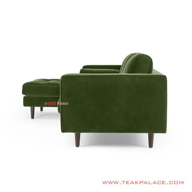Sofa Green Sudut Minimalis Citrani Jati