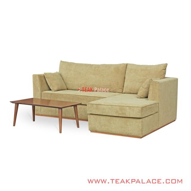 Kursi Sudut Minimalis Sofa TV Ruang Kecil Seri Citra