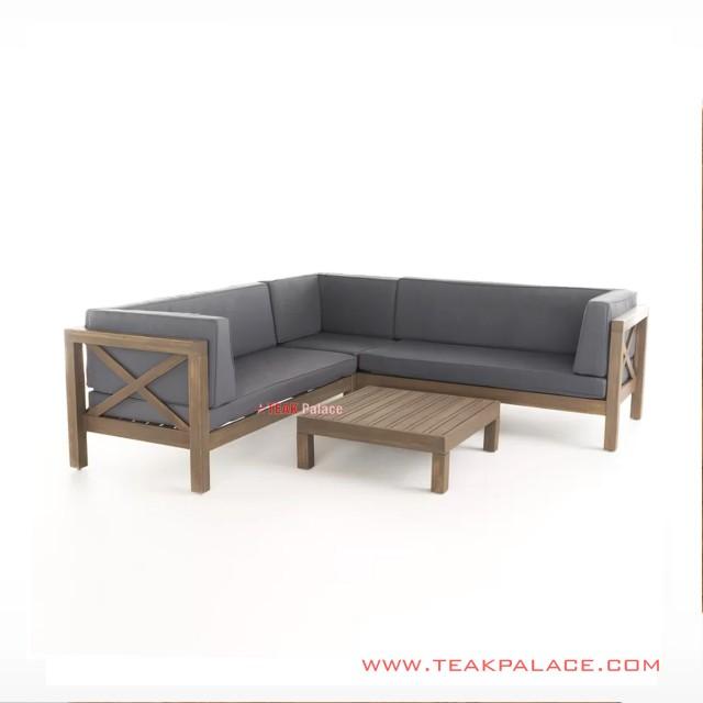 Set Sofa Tamu L Amara  Minimalis Modern