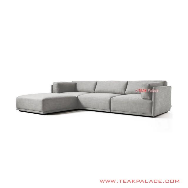 Set Sofa L Minimalis Living Room Seri Maudy