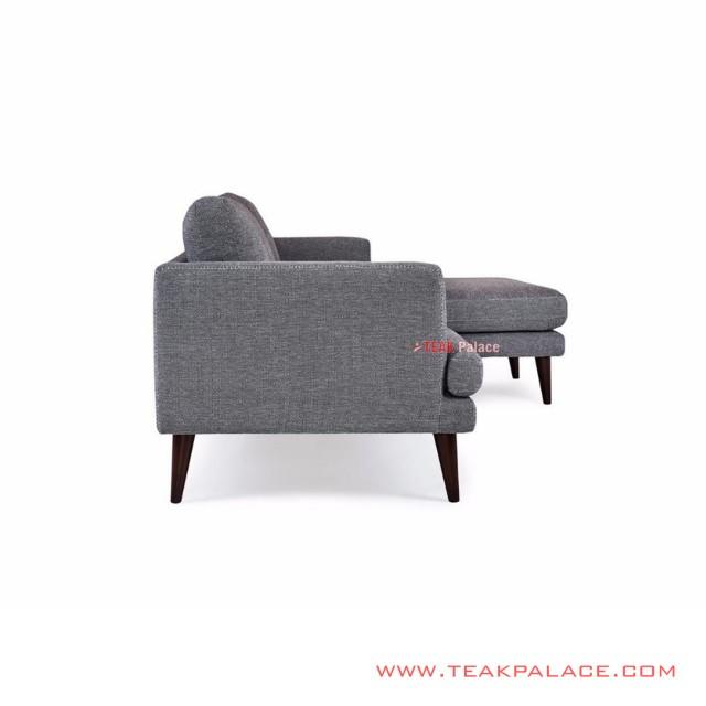 Sofa Minimalis Sudut Seri Daiki Jati