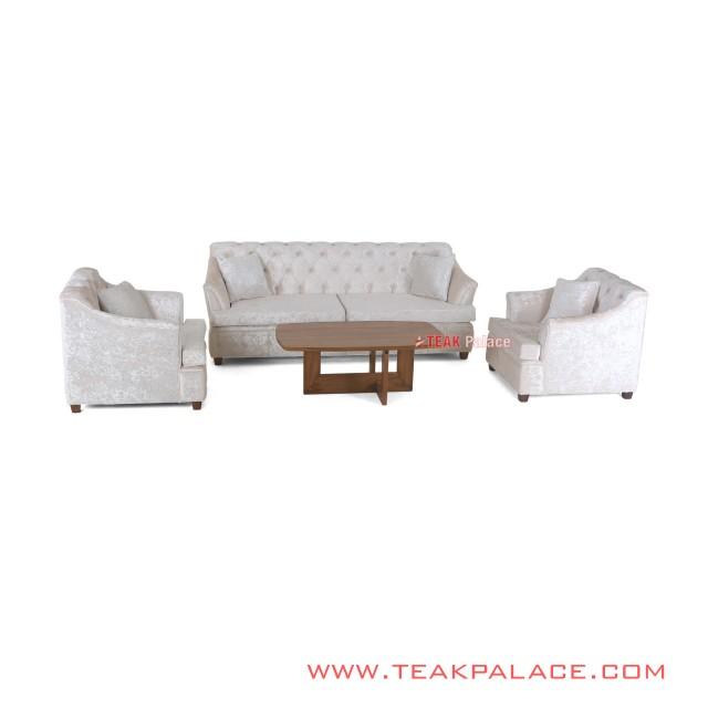 Sofa Set Minimalis 311 Putih seri Musi