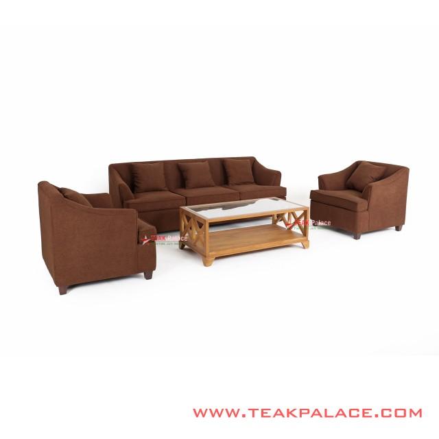 Sofa Kursi Tamu Minimalis 311 Musi Coklat