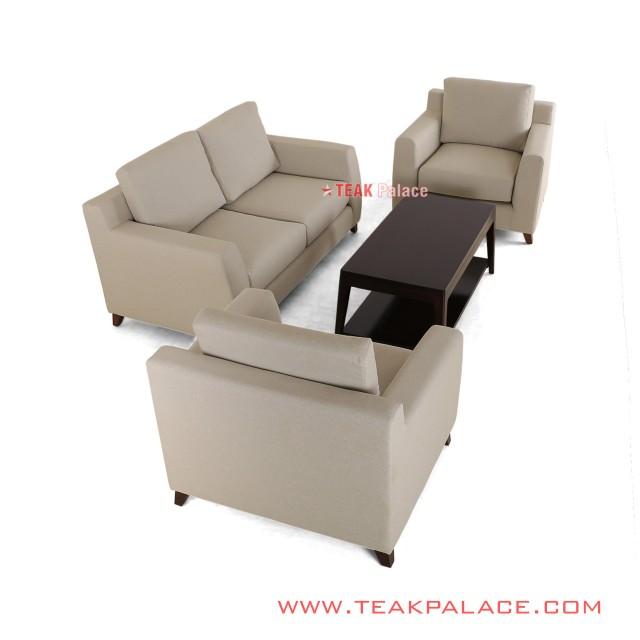 Set Sofa Minimalis 211 Black Walnut Seri Surabaya