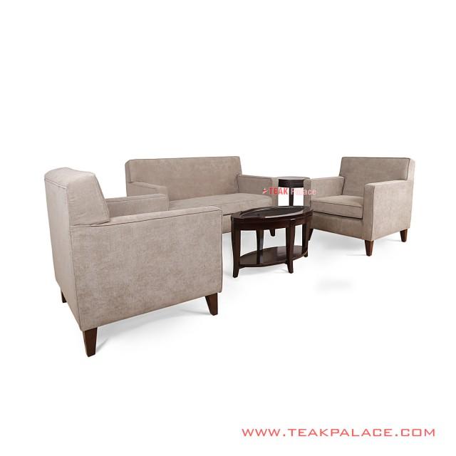 Sofa Tamu Set Minimalis Jati Seri Depok