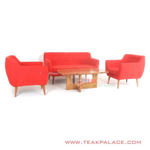 Sofa Vintage Retro Modern 211 Seri Dina