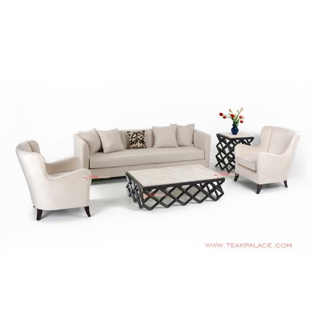 Accent Sofa Set 311 Cream