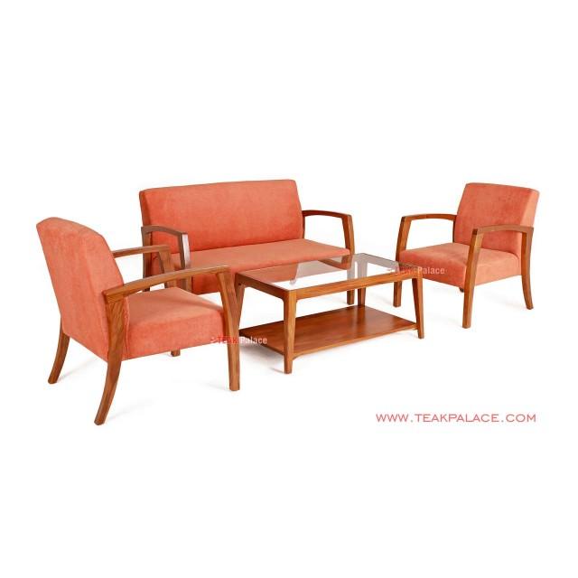 Guest Chairs Minimalist Teak Vintage Teak Legian Series