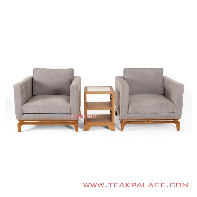 Amalia Nimbus Terrace Sofa Set Salak Light Minimalist