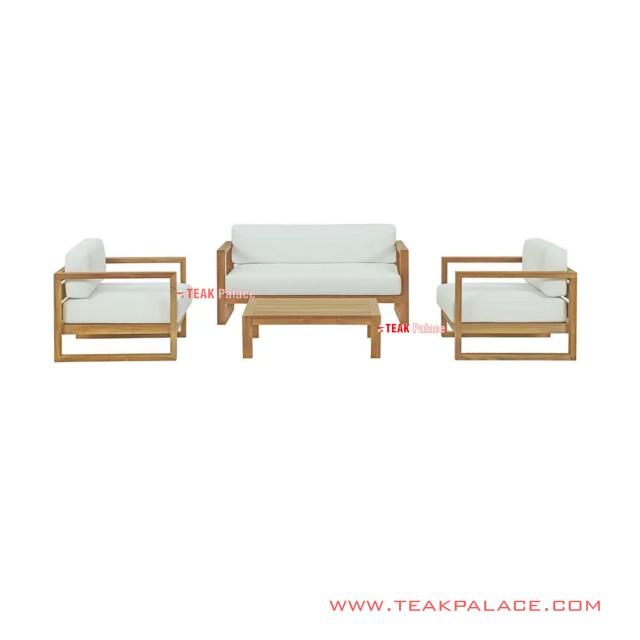Set Kursi Tamu Seri Astana Putih Minimalis