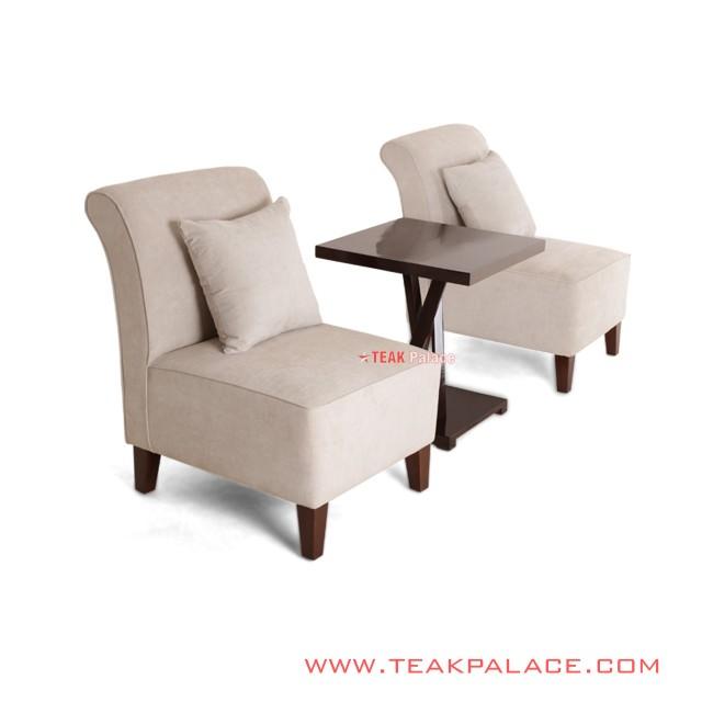 Amanda Series Rivoli Linen Table Chair Set
