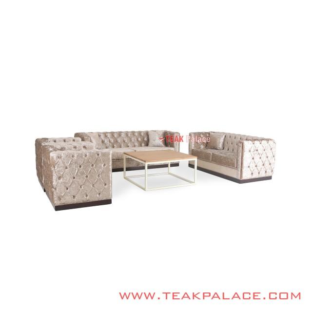 Diamond Sofa Minimalis Modern Set 3211 Kayu Jati