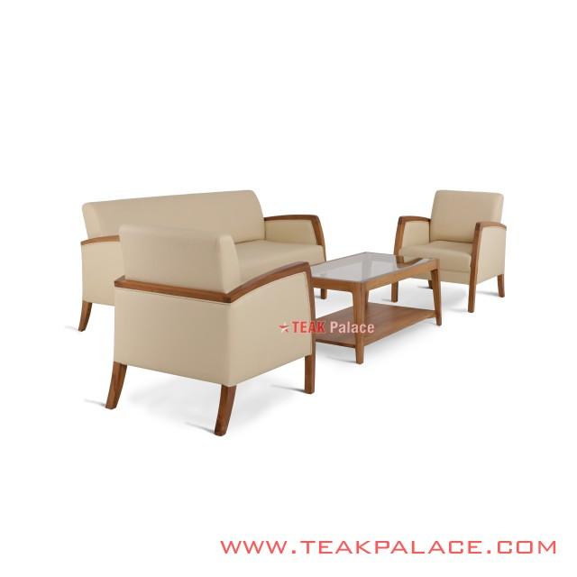 Sofa Set 311 Kuta Oscar Ivory