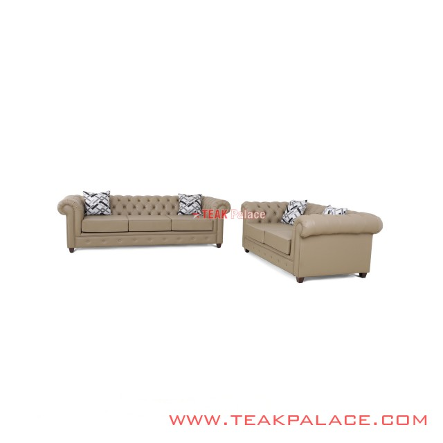 Set Sofa Santai Chesterfield Seri Chester