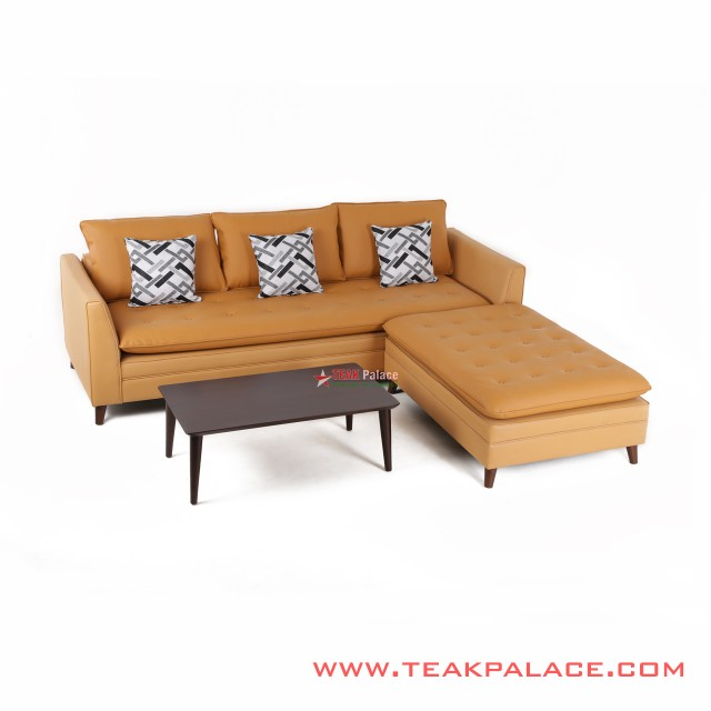 Corner Sofa L Yellow Venia Series