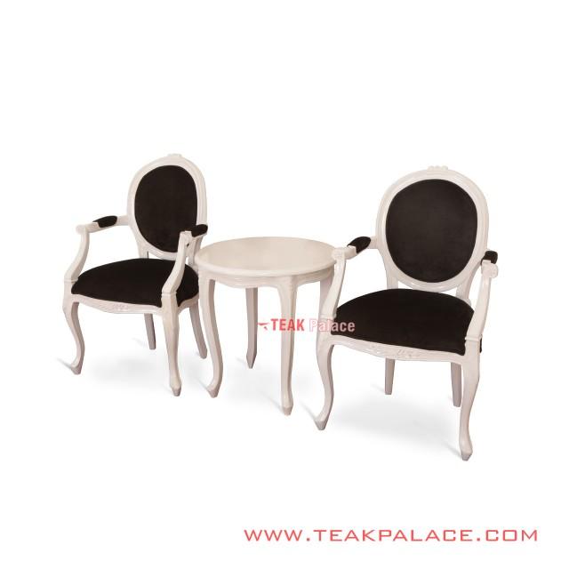 Vintage Furniture French Style Kursi Teras Set Victorian