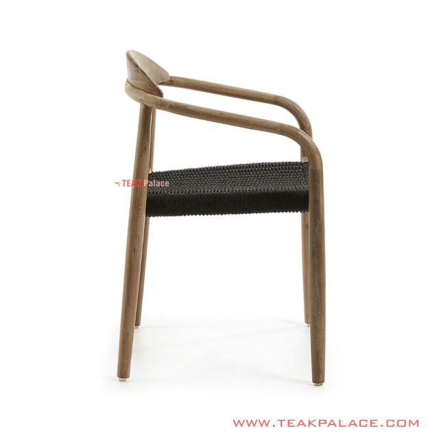 Kursi Teras Taman Yoona With Polyester Rope Natural