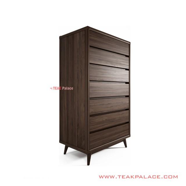 Olin Drawer Cabinets Minimalist Teak Wood