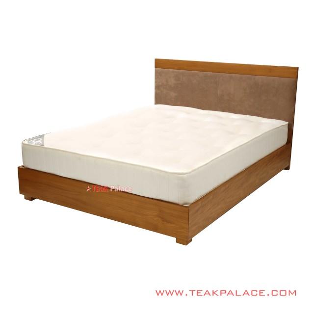 Dipan Tempat Tidur Minimalis Kayu Jati Seri Lion