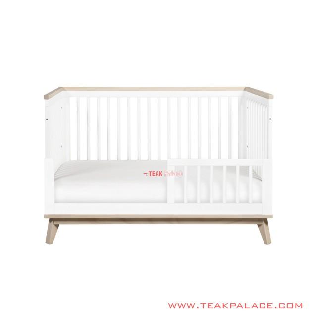 Tempat Tidur Bayi Jennie Minimalis Duco Putih