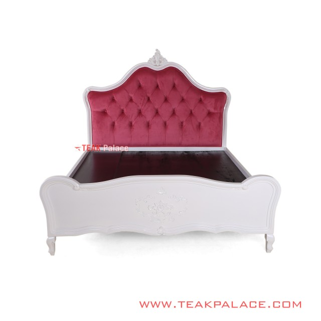 Tempat Tidur Princess Pink Duco Putih
