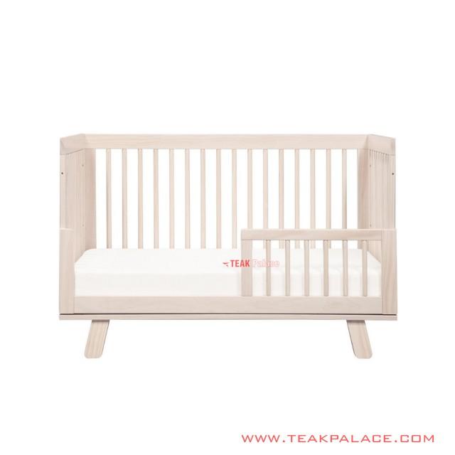 Irene Minimalist Natural Wood Baby Cribs
