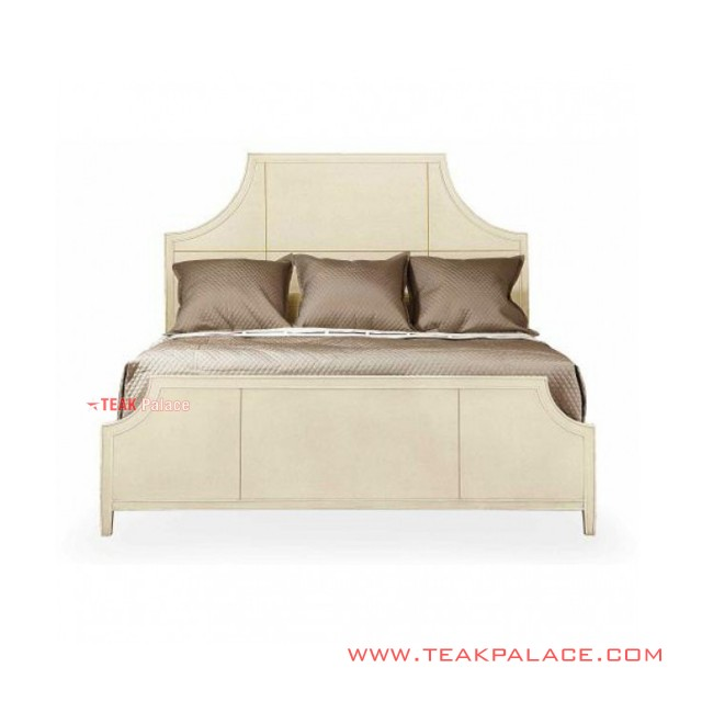 Bed Modern Minimalist Wood Grand Series