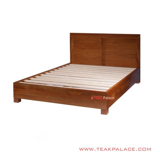 Tempat Tidur Minimalis Salak Brown Sleman