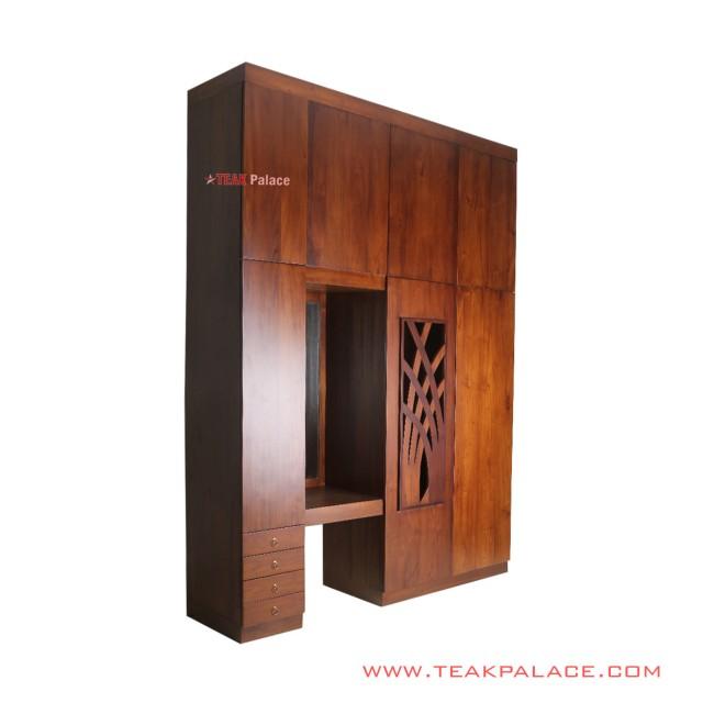 Gladiol Lemari Pakaian Cermin Minimalis
