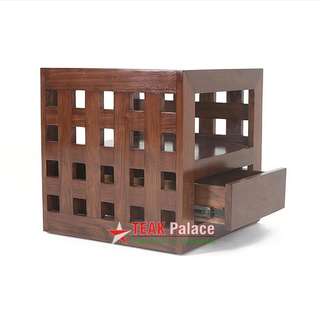 Nakas Minimalis 1 Laci Model Kotak