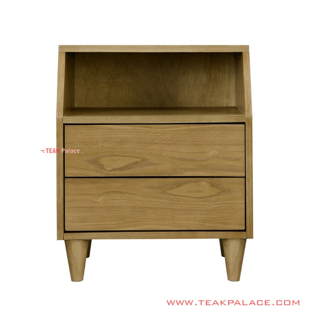Meja Nancy Nakas Minimalis Golden Teak